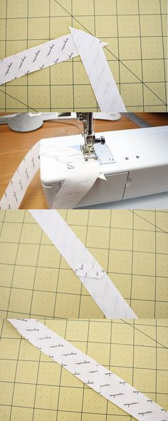 Sewing DIY Collage Tool Fabric Bias Tape Maker Folder Kit DIY Sewing Quilting Binding Tool Set