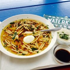 Saoto soup from Waterkant. | 22 Things Everyone Needs To Eat In Amsterdam