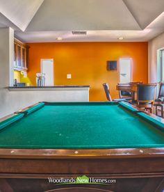 #gameroom #pool #table #wetbar #balcony