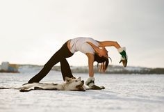 Amazing #yoga shot! : KIM BALSILLIE - Just Fitness Gym #Yellowknife, NWT
