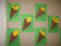 Patatje van McDonalds (juf Gertrude) Daycare Crafts, Crafts For Kids, Most Beautiful Pictures, Cool Pictures, Restaurant Themes, Valentines Day For Him, Mom And Grandma, Mothers Day Crafts, Mcdonalds