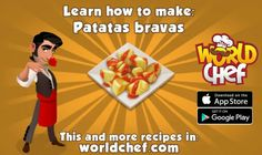 World Chef 😄level Clean Recipes, Snack Recipes, World Chef, App Store Google Play, Cooking Games, Omelette, Learn To Cook, Paella, Tapas