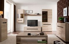 living room furniture uk - decorating ideas for the living room Living Room Furniture Uk, Modern Furniture Stores, Interior Design Living Room, Furniture Sets, Furniture Design, 6 Piece Living Room Set, Living Room Setup, Coffee Table With Shelf, Glass Cabinet Doors