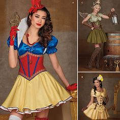 Misses' Cosplay Costumes