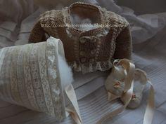 Chaqueta de bautizo.   http://conmilamoresyseda.blogspot.com.es/