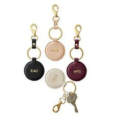 Daily Leather Round Key Fob