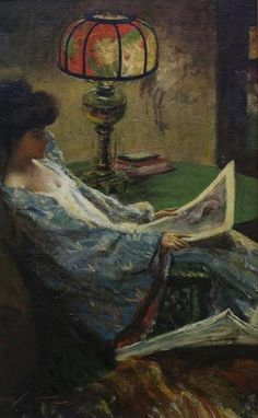 The Athenaeum - Seated Woman In A Kimono (Charles Webster Hawthorne - )