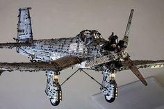 Meccano Messerschmitt Airplane Model