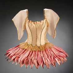 "¤ Balanchine's Ballet ""Bugaku"" Costumes for Balanchine's Bugaku, designed by Karinska and worn by Suzanne Farrell in the 1960s. On exhibition in the Theatre and Performance Galleries at the Victoria and Albert Museum, London."