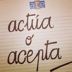 Actúa o acepta/ Onartu edo ekin aldatzeko #Lauaxetaikastola #educación