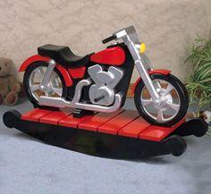 Motorcycle Rocker Woodworking Plan