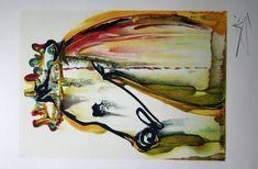 Salvador DALI : Lithograph : The Horse of Caligula