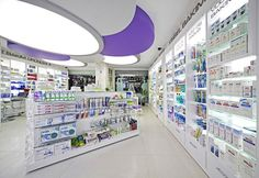 Pharmacy Store in Antalya - Luxury pharmacy store designed in 2012 - Antalya, Turkey - 2012