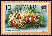Tuvalu 1979 Definitives Fish - Sellos del Mundo