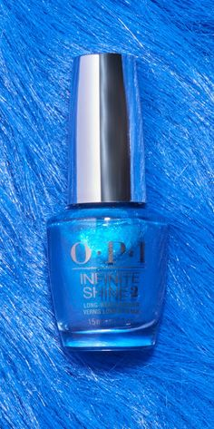 The sparkle can't stop, won't stop. Shade: Do You Sea What I Sea from OPI Fiji.