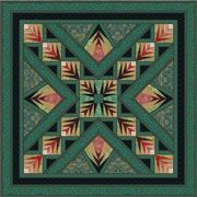 Jinny Beyer's Tuscan Sun quilt -- I need motivation to finish this one!