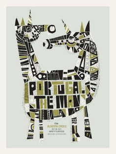 Love Portugal.The Man..and this poster is great!  From Methane Studios