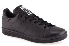 sports shoes fec8e fc8cd ADIDAS M20604 STAN SMITH J NERO Tutta NERA Ragazzo Ragazza Sneakers Scarpa  Donna  Casual