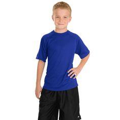 Sport-Tek Youth True Royal Dry Zone Raglan T-Shirt