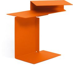 moss > Diana E side table with swivel top Pure Orange - mossonline.com