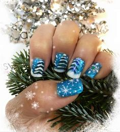 Daisysnailspa by Daisysnailspa from Nail Art Gallery Xmas Nails, Holiday Nails, Tow Nail Designs, Christmas Nail Art, Nail Art Galleries, Nails Magazine, Nail Arts, Winter Holidays, Gel Polish