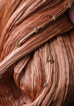 Mariano Fortuny - Couture - Robe 'Delphos' - Détails Plissé et Perles Murano