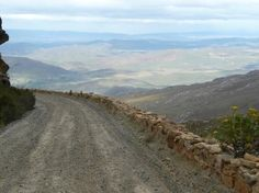 View from Swartberg Mountain Pass