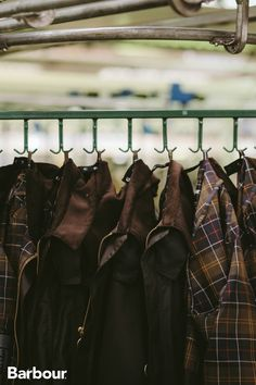 Barbour waxed jackets are made to last. Renowned for their durability, weather resistance and a patina that only improves with age. Barbour Wax Jacket, Waxed Cotton Jacket, Wax Jackets, Mens Fashion, Fashion Outfits, Men's Style, Gentleman, Sons, Weather