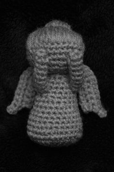 Weeping Angel Doctor Who Amigurumi Crochet Pattern
