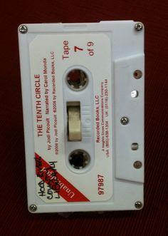 Cassette tape light switch