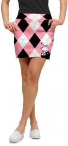 Hello KittyⓇ in Pink & Black - SKM-Golf skirt from loud mouth golf. All Things Girly-Concept Candie Interiors