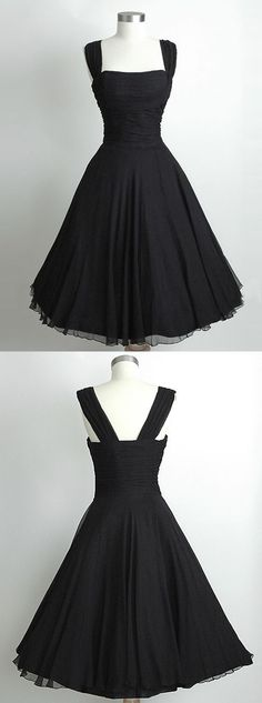 vintage dresses,1950s vintage dresses,short homecoming dresses,black homecoming dresses,@