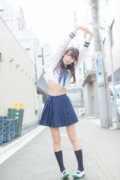 School Girl Japan, School Girl Outfit, Japan Girl, Girl Outfits, Japanese Model, Cute Japanese Girl, Japanese School, Cute School Uniforms, School Uniform Girls