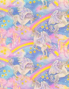 unicorn ♡ rainbow ♡ star ♡ castle
