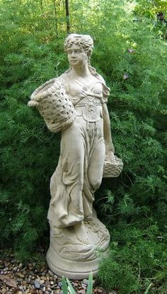 Can't have enough concrete statues for the garden
