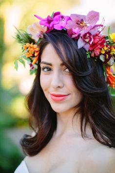 Lotus Blanc's Tropical Romance Wedding  featured on pacificweddings.com   Lotus…
