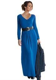 Plus Size Knit Maxi Dress image