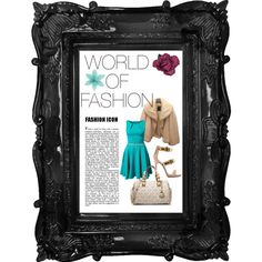 A fashion look from February 2015 featuring blue dress, Christian Dior and leather shoes. Browse and shop related looks. Also Follow me on PolyVore @miss zjay and browse my sets. ~A World of Fashion~ #AWOF