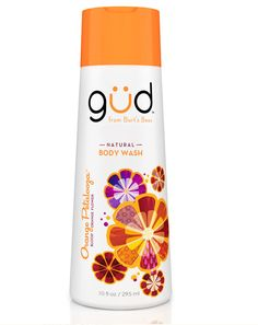 güd products from Bert's Bees.  Cleans well, moisturizes  great, and smells amazing! - I believe them...gotta try this!