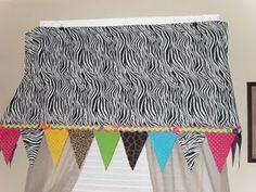 Zebra Canopy Idea - Too Cute!!!