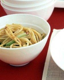 Sesame Noodles #recipe #vegetarian #vegan