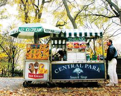 5. Hot Dogs in Central Park
