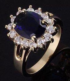Saphire and diamonds