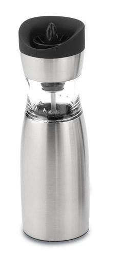 Gmill electric stainless steel mill - suitable for salt or pepper Steel Mill, Travel Mug, Salt, Electric, Stainless Steel, Stuffed Peppers, Mugs, Tableware, Dinnerware