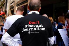 #world #news  Dozens of Fairfax journalists down pens in protest over job cuts
