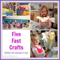 5 Fast craft ideas