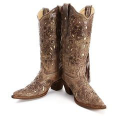 BootDaddy Collection with Corral Fringe Cowgirl Boots