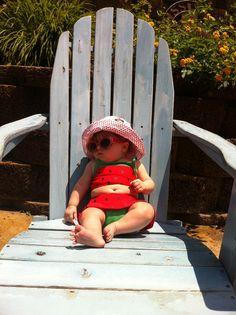 #Baby beach bum