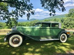 "1932 Packard Model 904 ""Super Eight"". Just look at that Green. Assembled for days like this one. Veteran Car, Pebble Beach Concours, Days Like This, Sports Sedan, Old Cars, Shades Of Green, Motor Car, Luxury Cars, Cars For Sale"