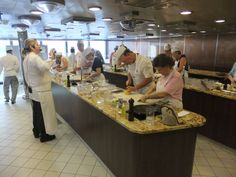 Oceania Cruises hands-on culinary center. Cruise food DIY!
